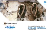 Máquinas y herramientas para parquet o suelos de madera